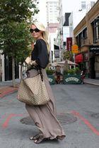 Gucci purse - Sam Edleman shoes - Fendi sunglasses - Forever 21 skirt