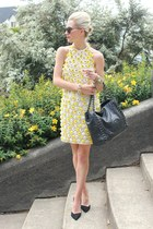 Chanel bag - asos dress - Zara heels