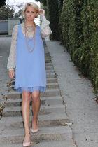 Luella blouse - Forever 21 dress - Pour La Victoire shoes