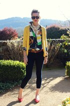 Old Navy jeans - Karen Walker sunglasses - banana republic flats - Ralph Lauren
