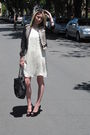 Stella-mccartney-for-gap-jacket-rag-bone-dress-zara-shoes-chanel-purse-