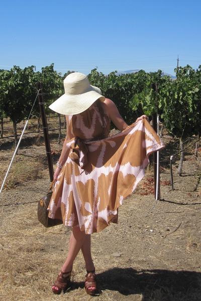 LV purse - Miu Miu shoes - dvf dress - Fendi sunglasses