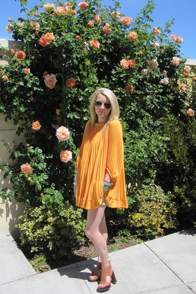 H&M dress - Pour La Victoire shoes - Randolph Engineering sunglasses
