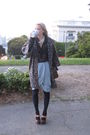Zara-jacket-fcuk-blouse-h-m-skirt-pour-la-victoire-shoes-lv-purse-bana