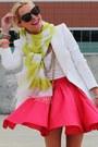 Zara-blazer-karen-wlaker-sunglasses-luluscom-skirt