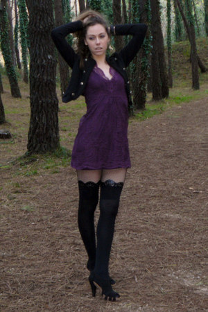 Zara dress - Stradivarius shoes - Calzedonia tights