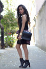 Black-ankle-boots-zara-boots-black-lace-zara-dress