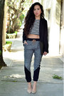 Black-zara-blazer-black-clutch-persunmall-bag-black-pants-persunmall-pants