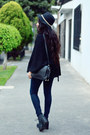 Black-ankle-boots-bershka-boots-black-denim-zara-jeans-black-zara-zara-cape