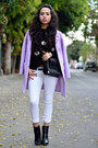Black-ankle-boots-zara-boots-periwinkle-pastels-jolly-chic-coat