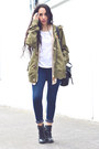 Olive-green-boyfriend-pull-bear-jacket