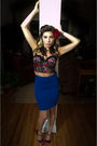 Black-forever-21-intimate-blue-forever-21-skirt-red-jessica-simpson-shoes