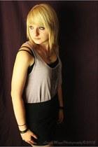 black Target skirt - periwinkle Target top