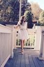 Lace-dress-dress-purse-belt-heels