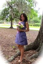 lilac lavender organsa dress