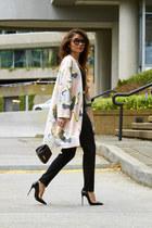 kimono H&M blazer - crossbody Zac Posen bag