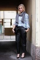 acne shirt - H&M Trend pants - Christian Louboutin pumps