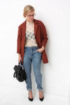 Monki jeans - Topshop coat - PROENZA SCHOULER bag - Zara pumps