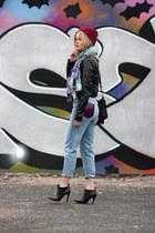 Monki jeans - Din Sko boots - Vila jacket