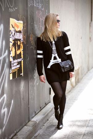 H&M boots - asos dress - PROENZA SCHOULER bag