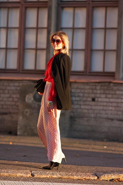 moms old pants - Chanel bag - Topshop sunglasses
