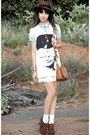 Burnt-orange-topshop-hat-sky-blue-bardot-shirt-burnt-orange-thrifted-bag-b