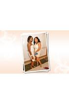 white tube dress American Apparel dress - gold peep toe gianni bini heels