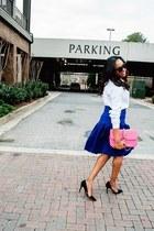 Valentino bag - Celine sunglasses - coach pumps