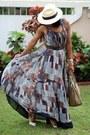 Ladyee-boutique-dress-jcrew-hat-celine-bag-valentino-sandals
