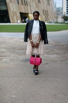 Valentino bag - michele watch