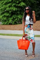 Celine bag - Celine sunglasses - Valentino pumps