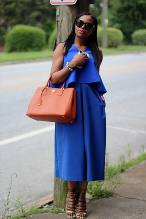 Prada bag - Blaque Label pants