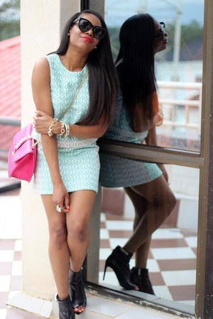 PROENZA SCHOULER boots - Valentino bag - Celine sunglasses - Topshop skirt