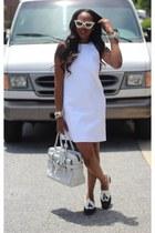stuart weitzman shoes - Zara dress