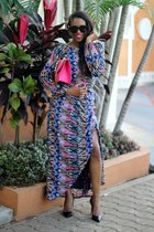 Valentino bag - Celine sunglasses - Christian Louboutin pumps