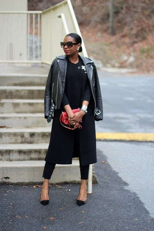 Valentino bag - Reed Krakoff sunglasses - christian dior earrings