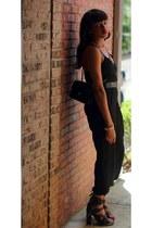 Chanel bag - Ladyee Boutique romper - Gucci belt