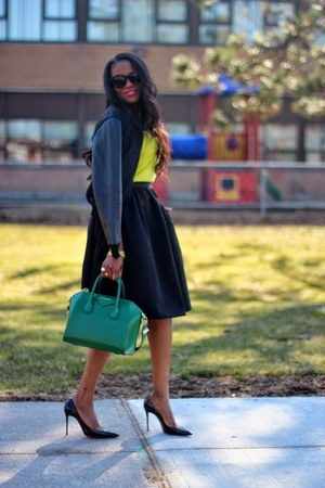 Givenchy bag - Celine sunglasses - Christian Louboutin pumps