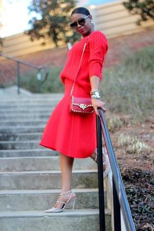 Valentino shoes - Valentino bag - Reed Krakoff skirt