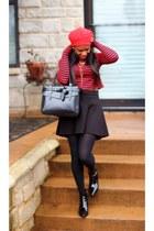Miu Miu boots - Zara jumper
