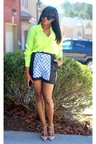 Valentino shoes - Peter Pilotto For Target shorts - Celine sunglasses