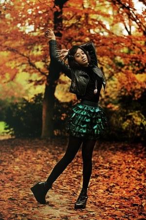 Mango skirt - Senso boots - Zara men t-shirt - Accessorize accessories