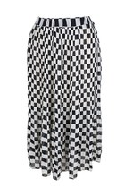 CHECKED IN SIMPLICITY MIDI SKIRT