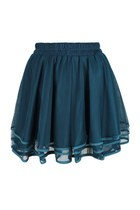 Four Layers Symphony mesh Skirt (Aquamarine)