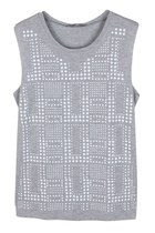 STUDDED YOUR LOVE TANK TOP