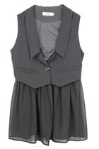 ROCK YOUR STYLE CHIFFON VEST