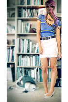 vintage shoes shoes - skirt - shirt