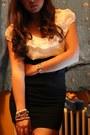 White-dorothy-perkins-blouse-black-topshop-skirt-black-pimkie-shoes-tawny-