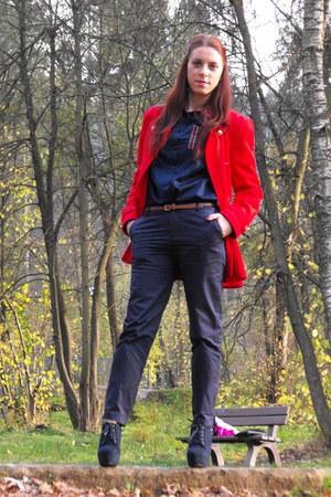 Sheinside coat - OASAP pants