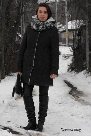 Zara coat - Rosewholesale boots
